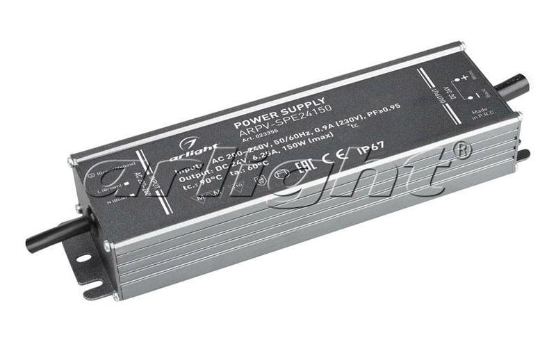 Блок питания Arlight ARPV-SPE24150 (24V, 6.25A, 150W, PFC) 023355Блоки питания<br><br>