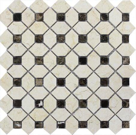 Мозаика MN184PMA Primacolore 6x6+29x45/305х305 (11pcs.) - 1.02Мозаика<br><br>