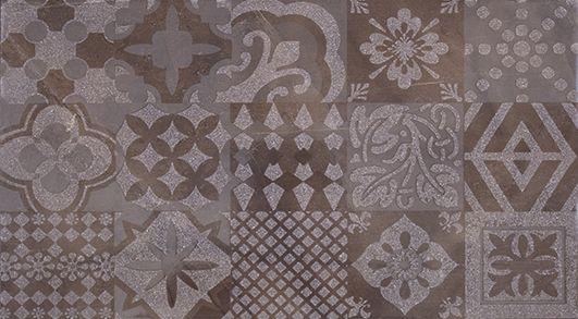 Меравиль Декор темный 1645-0118 25х45Плитка<br><br>