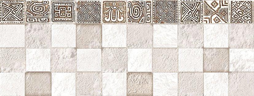 Ethno Плитка настенная рельефная TWU06ETH024 15х40Плитка<br><br>