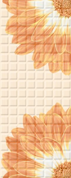Mariscos Плитка настенная Floris Mocca 20,1х50,5Плитка<br><br>
