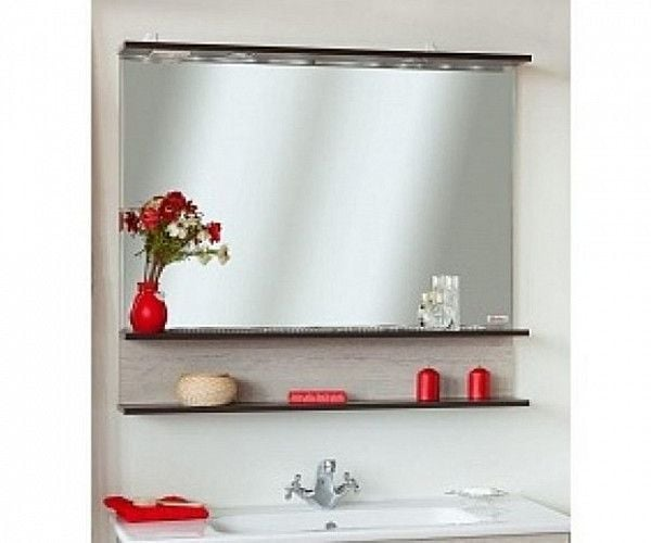 Зеркало Sanflor Турин 100 С0000002135 венге, орегонЗеркала<br><br>