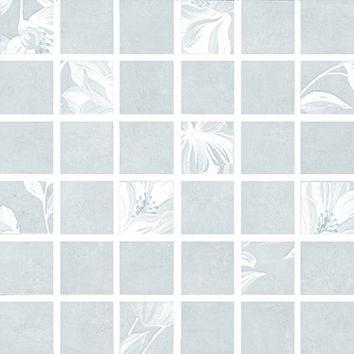 Каподимонте Декор мозаичный голубой MM11098 Плитка<br><br>