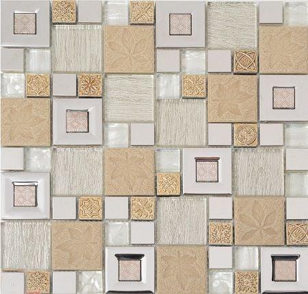 Мозаика PM410MXA Primacolore 23x23+48x48/300x300 (10 pcs) - 0.9Мозаика<br><br>