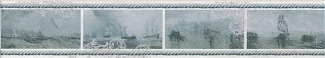 Ньюпорт Бордюр Корабли зеленый STG\B209\15016 Плитка<br><br>