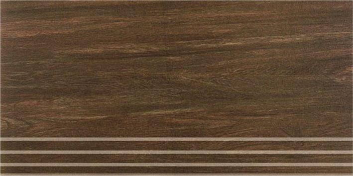 Шале коричневый ступени SG203400R\GR 60х30 обрезнойКерамогранит<br><br>