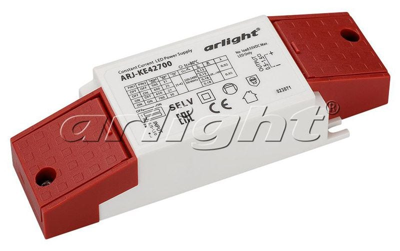 Блок питания Arlight ARJ-KE42700 (30W, 500-700mA, PFC) 023071Блоки питания<br><br>