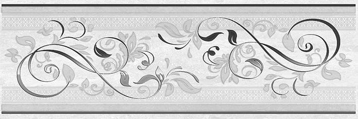 Мармара Ажур Декор серый 17-03-06-659 20х60Плитка<br><br>