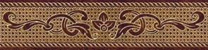Romance Бордюр коричневый (RN1C111) 6x25Плитка<br><br>