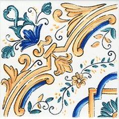 Капри Декор настенный майолика STG\A449\5232 Плитка<br><br>