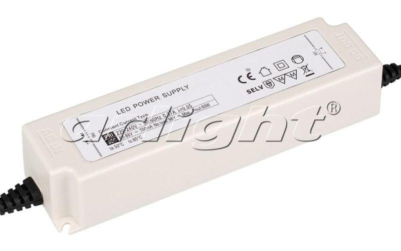 Блок питания Arlight ARPJ-KE86700A (60W, 700mA, PFC) 021902Блоки питания<br><br>