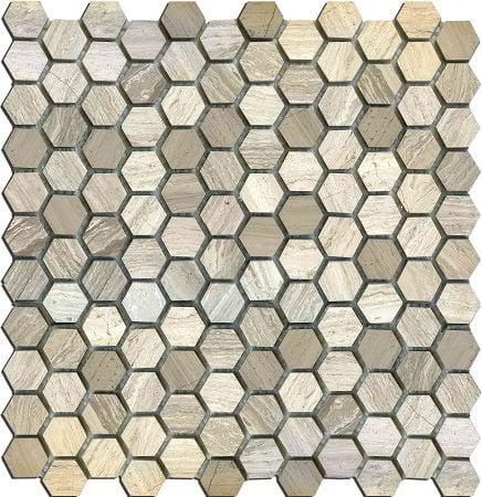 Мозаика MN160HMA Primacolore 25x25 hexagon/300х300 (11pcs) - 0.99Мозаика<br><br>