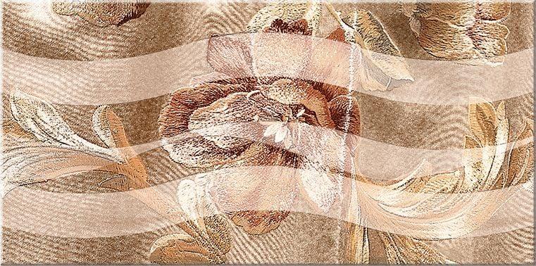 Триоль Какао Декор Ноктюрн 1 - 405х201 мм/13 Плитка<br><br>