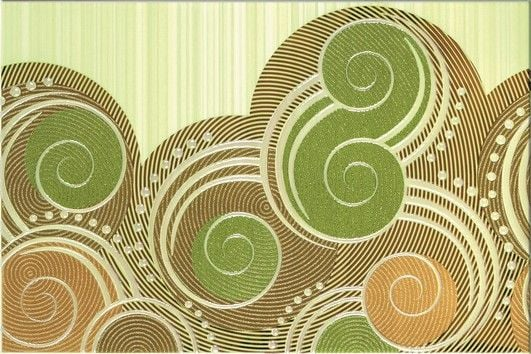 Calipso green wave декор 30x45Плитка<br><br>