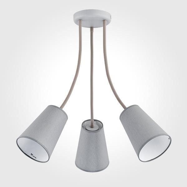 Подвесная люстра TK Lighting 2100 Wire GrayПодвесные<br><br>