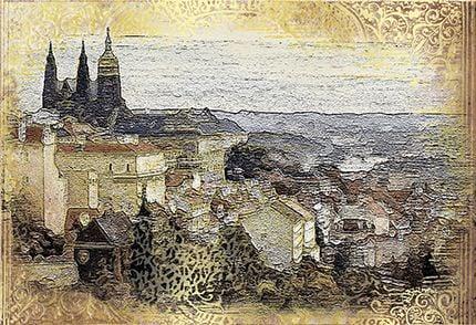 Прага Декор ВС7ПГ004 36,4х24,9Плитка<br><br>