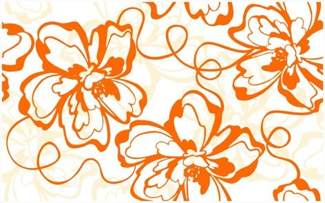Монро оранжевый (09-00-35-050-0) (94-00-35-50) Декор Плитка<br><br>