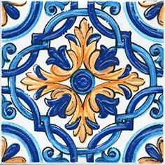 Капри Декор настенный майолика STG\A458\5232 Плитка<br><br>