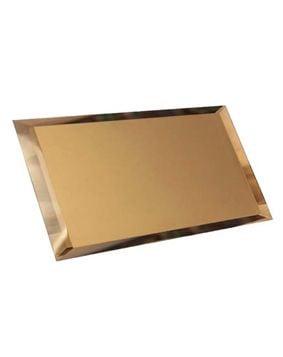 Прямоугольная зеркальная бронзовая матовая Плитка<br><br>