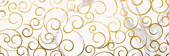 Миланезе дизайн Декор Флорал каррара 1664-0140 Плитка<br><br>