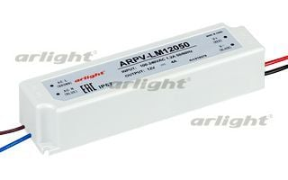 Блок питания Arlight ARPV-LM12050 (12V, 4A, 48W) 018379Блоки питания<br><br>