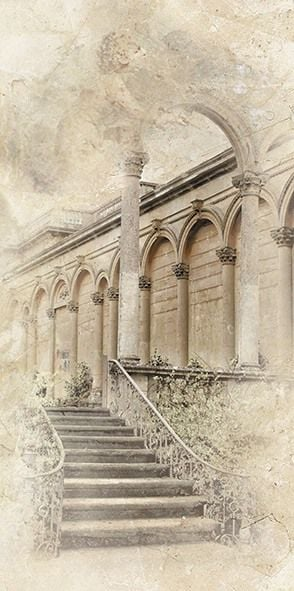Помпеи Декор (Лестница) ВС9ПМ064 24,9х50Плитка<br><br>