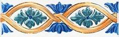 Капри Бордюр майолика STG\A460\5232 20х6,3Плитка<br><br>