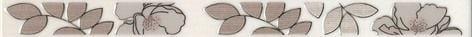 Ньюпорт Бордюр Цветы коричневый STG\A235\15010 Плитка<br><br>