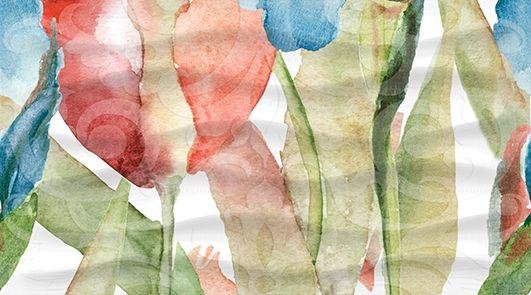 Dec Tulip Panno C КПН16TulipC 25х45Плитка<br><br>