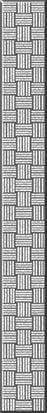 Спецэлемент стеклянный серебристый (GL7H371) Плитка<br><br>