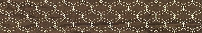 Ethereal Бордюр коричневый K944347 9х60Плитка<br><br>