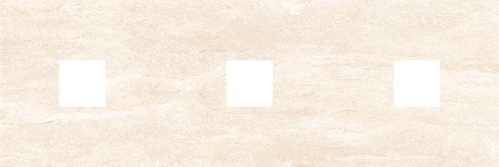 Петра Декор (с 3-мя вырезами 5,6х5,6) бежевый Плитка<br><br>