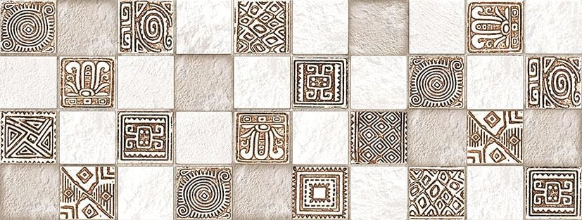 Ethno Плитка настенная рельефная TWU06ETH034 15х40Плитка<br><br>