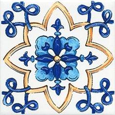 Капри Декор настенный майолика STG\A452\5232 Плитка<br><br>