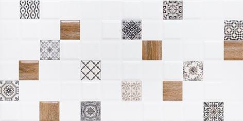 Астрид Декор 1 белый 1041-0238 20х40Плитка<br><br>
