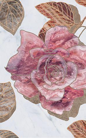 Argos flowers-1 Декор 25x40Плитка<br><br>