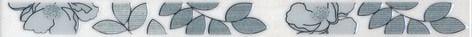 Ньюпорт Бордюр Цветы зеленый STG\B235\15016 40х3,1Плитка<br><br>