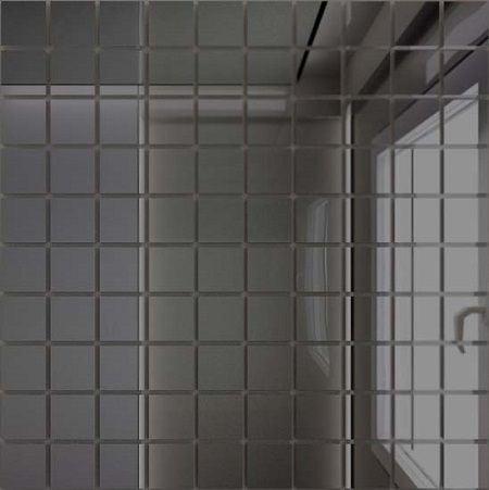 Мозаика зеркальная Графит Г25 ДСТ 25 х 25/300 Мозаика<br><br>