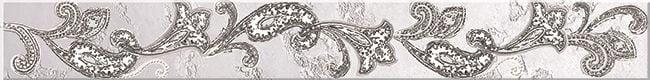 Sfumato grey Бордюр Paisley 50,5х6,2Плитка<br><br>