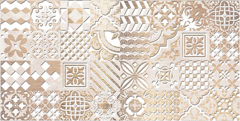 Bastion Декор бежевый 08-03-11-454 20х40Плитка<br><br>