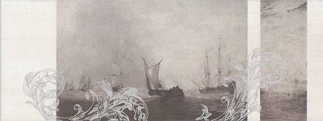 Ньюпорт Декор Корабли коричневый STG\A206\15010 Плитка<br><br>