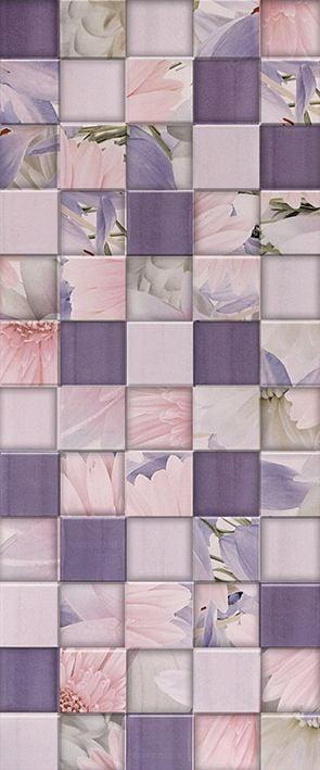 Aquarelle lilac Плитка настенная 03 25х60Плитка<br><br>