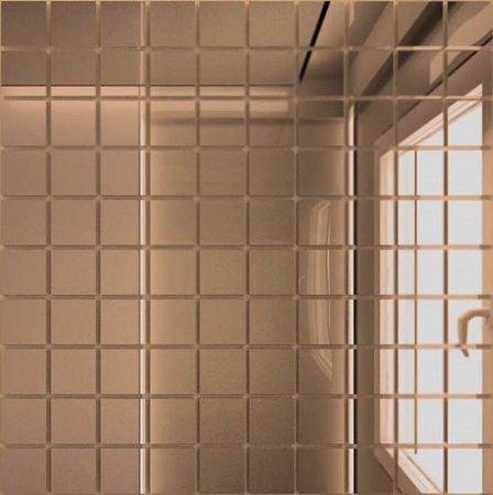Мозаика зеркальная Бронза Б25 ДСТ 25 х 25/300 Мозаика<br><br>