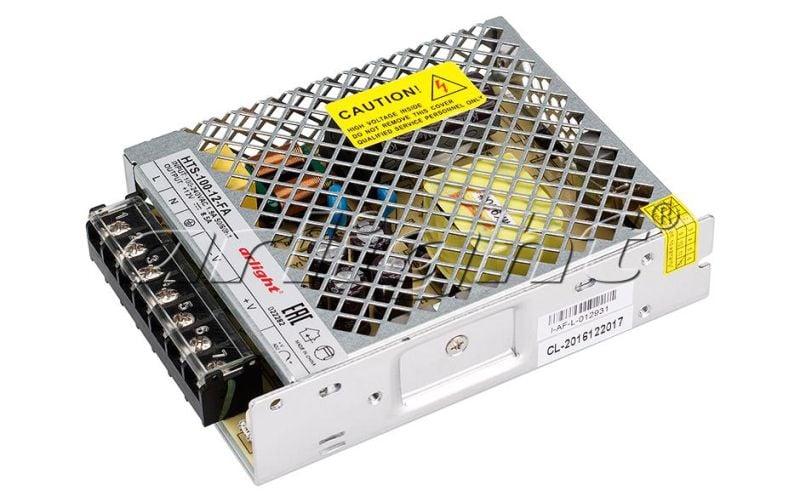 Блок питания Arlight HTS-100-12-FA (12V, 8.5A, 100W) 022282Блоки питания<br><br>