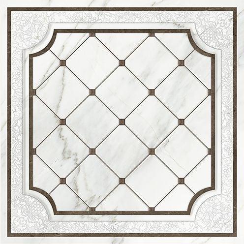 Capella напольная вставка белая (CP6R052DT) 42x42Плитка<br><br>