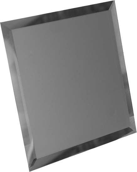 Квадратная зеркальная графитовая матовая Плитка<br><br>