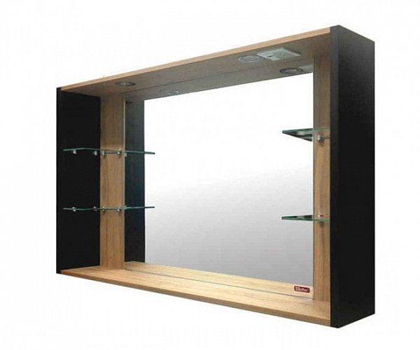 Зеркало Sanflor Ларго 120 Н0000000015 венге, швейцарский Зеркала<br><br>