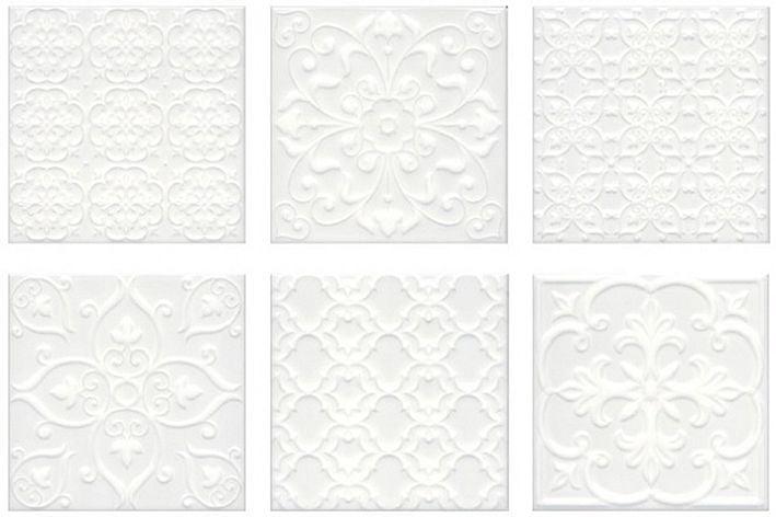 Суррей Плитка настенная белый 5226 20х20Плитка<br><br>