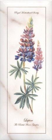 Ноттингем Декор Цветы грань NT\A85\15005 15x40Плитка<br><br>