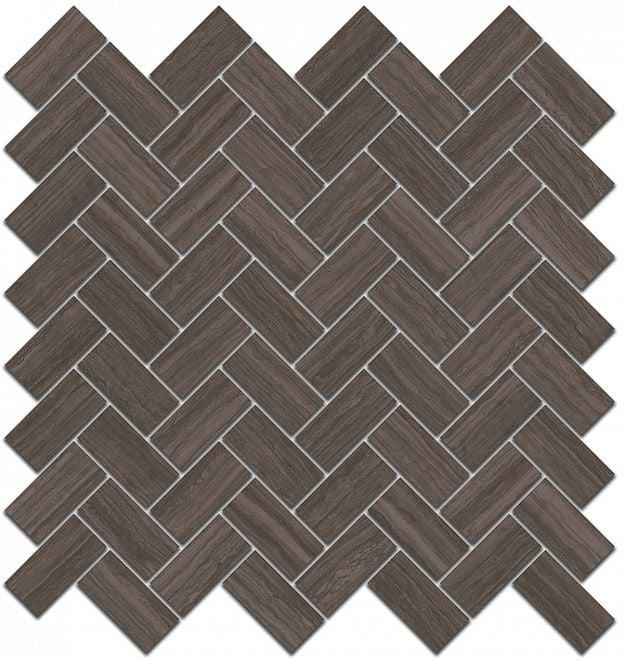 Грасси Декор коричневый мозаичный 190\003 Плитка<br><br>